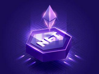 Logo de Ethereum sobre el acrónimo NFT para reprentar qué es Immutable X